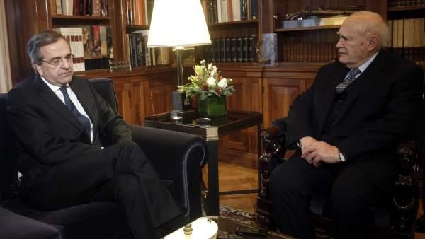 El presidente griego