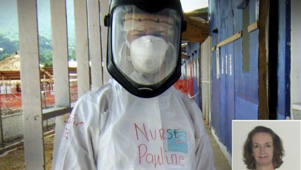Infectada con ébola