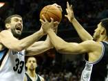 Marc Gasol ante los Spurs