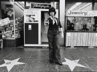 Ave Pildas (American, born 1939).  Untitled gelatin silver print from the series Automat, Hollywood Blvd, 1974
