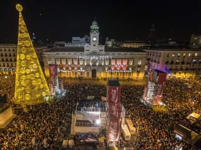 Madrid da la bienvenida al 2015