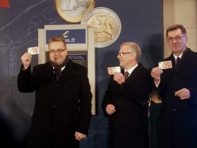 Lituania entra en el euro