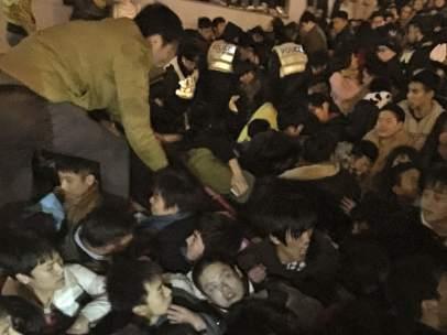 Tragedia en Shanghái