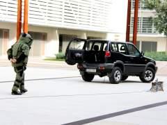 Desactivan una granada encontrada en un desguace