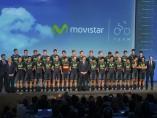 Presentación del equipo Movistar 2015