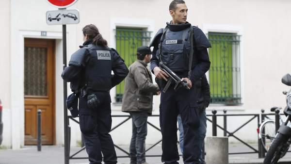 Policía en Francia