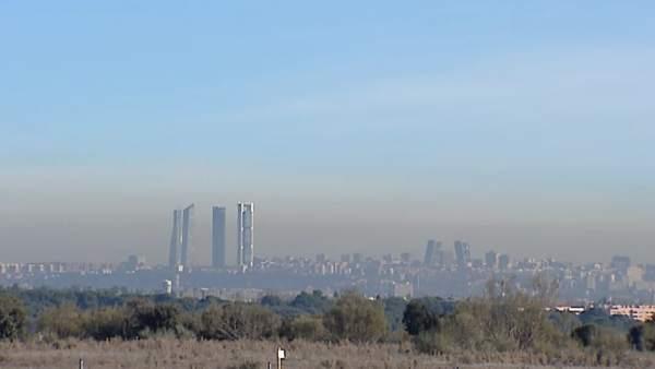 Contaminación de Madrid