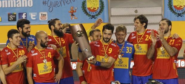 España, campeona del Domingo Barcenas 2015