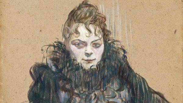 'Die Frau mit der schwarzen Boa', 1892