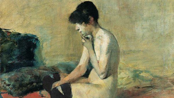 'Aktstudie', 1882/83