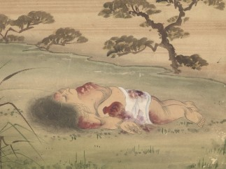 Kusozu: the death of a noble lady and the decay of her body