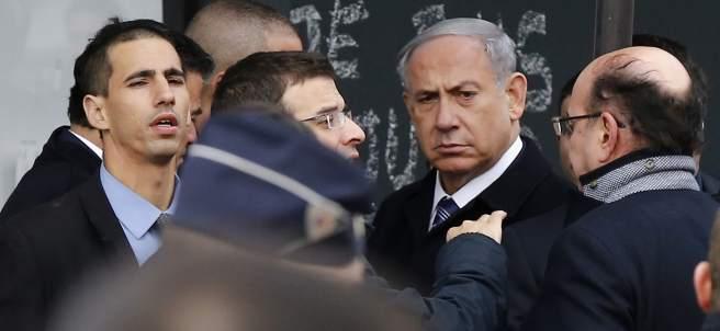 Netanyahu visita el supermercado del atentado