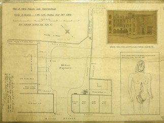 Coroner's plan of Mitre Square