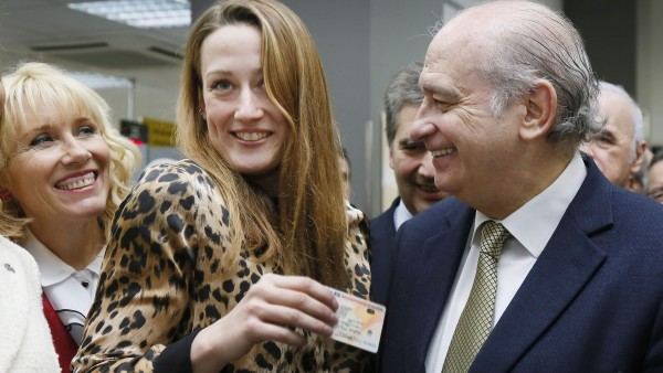 Mireia Belmonte, con su DNI 3.0