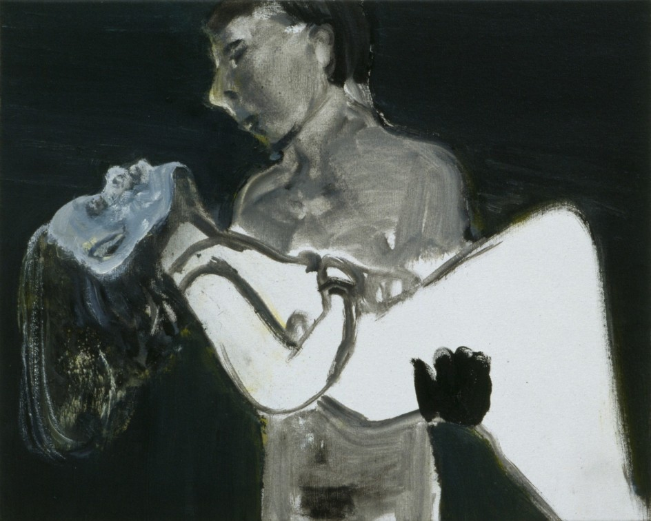 The Image as Burden, 1983 - Marlene Dumas - Private collection, Belgium © Marlene Dumas - Photo: Peter Cox