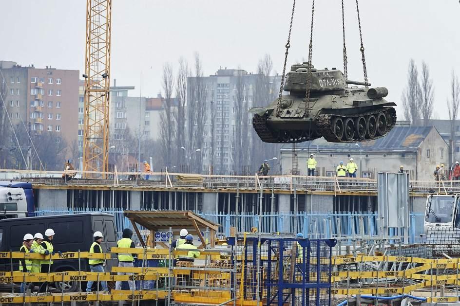 Construcción de un museo de la II Guerra Mundial c