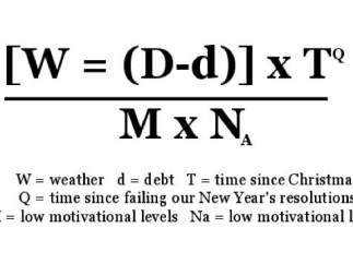 Fórmula del 'Blue Monday'