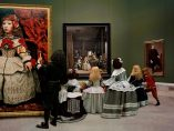 'Las Meninas renacen de noche IV: Peering at the secret scene behind the artist', 2013