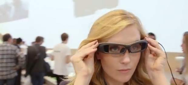Proyecto de Sony para unas gafas 'inteligentes'