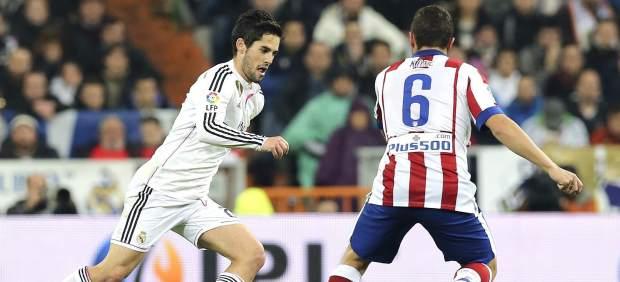 Isco y Koke en el Real Madrid - Atlético