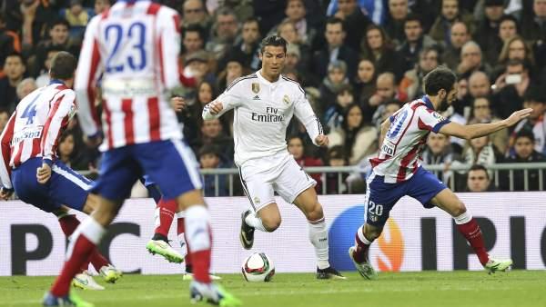 Cristiano ante el Atlético