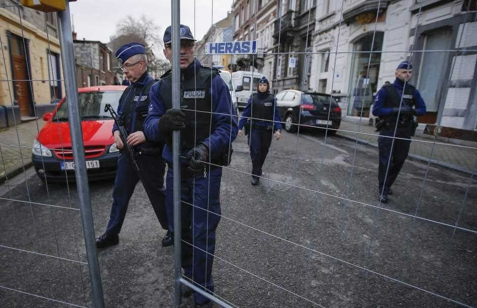 Operación antiyihadista en Bélgica