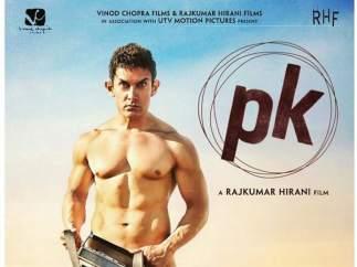 Cartel promocional de la película de Bollywood, 'Pk'