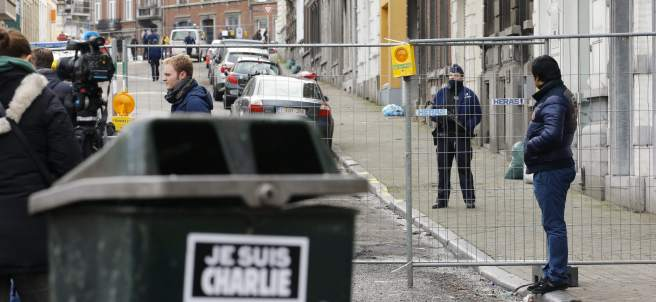 Operación antiterrorista en Bélgica