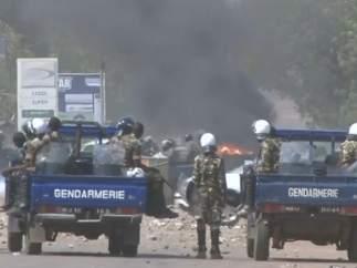 Protestas en Niamey