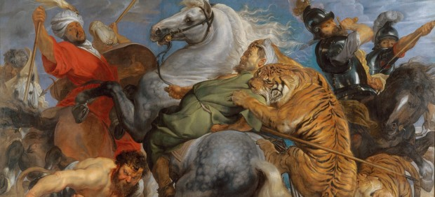 Peter Paul Rubens, Tiger, Lion and Leopard Hunt, 1616