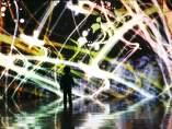 Arte lum�nico en Tokio