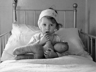 'Eileen Dunne im Krankenhaus f�r kranke Kinder', 1940