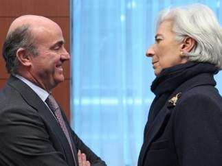 Lagarde y De Guindos