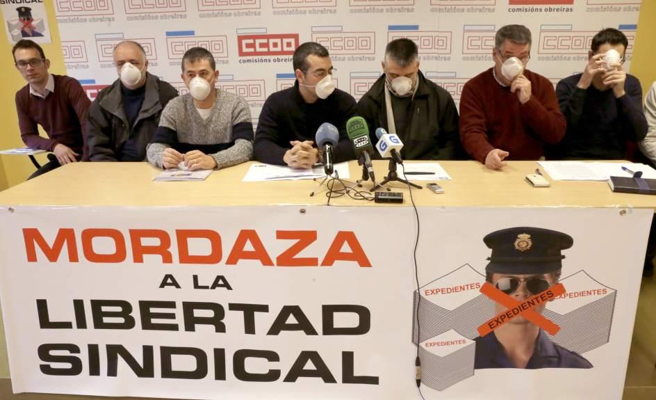 "Sindicatos policiales denuncian ""la mordaza a la libertad"""