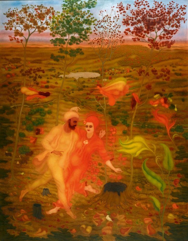 Retrospectiva de arik brauer el pintor vien s del - Trabajos de pintor en madrid ...