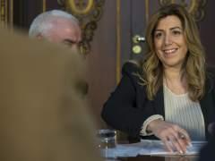 La presidenta de la Junta de Andaluc�a.