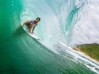 El surfista Ricardo dos Santos