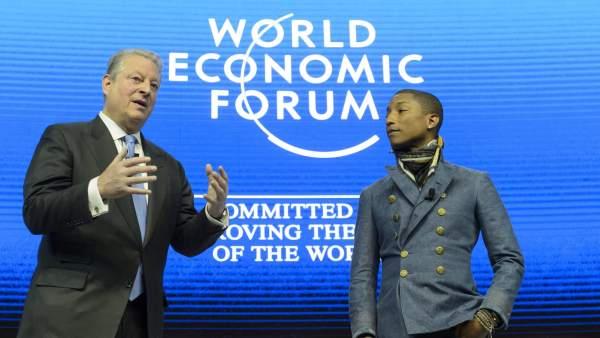Al Gore y Pharell Williams