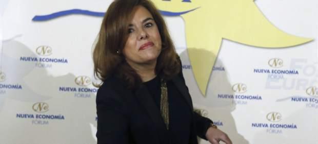 Sáenz de Santamaría: Los ciudadanos quieren reformas y no revoluciones