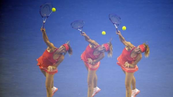 Sharapova pasa de ronda