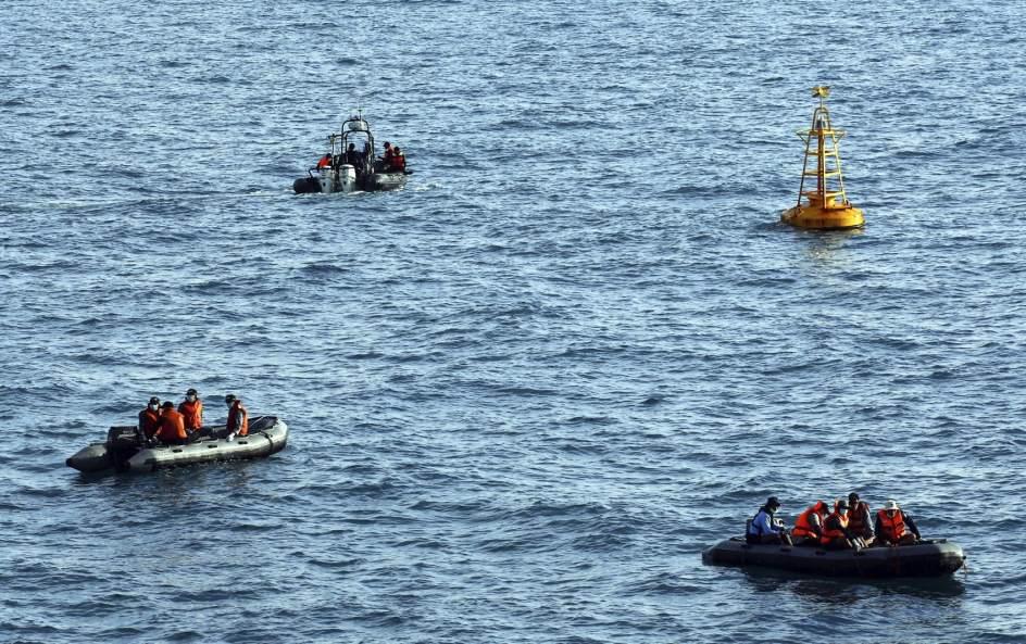 Búsqueda de las víctimas del avión de AirAsia