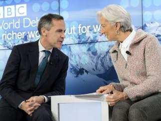 Lagarde, en Davos