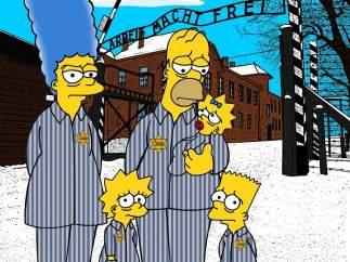 Los Simpson en Auschwitz