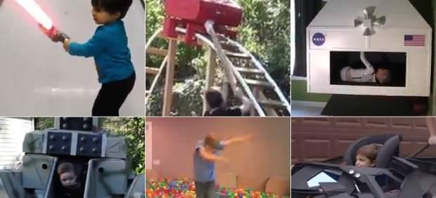 Un Batmóvil, una montaña rusa, un robot..., algunas 'frikadas' para sorprender a los más pequeños