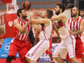 Laboral contra Olympiacos