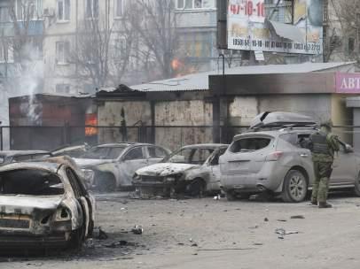 Ataque en Mariupol