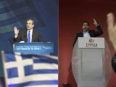 Samaras y Tsipras