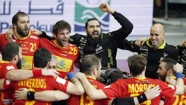 España arrolla (28-20) a Túnez y se mete en los cuartos de ...