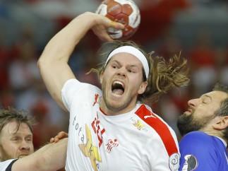 El jugador de balonmano dan�s Mikkel Hansen