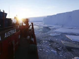 Totten, uno de los glaciares más grandes del planeta